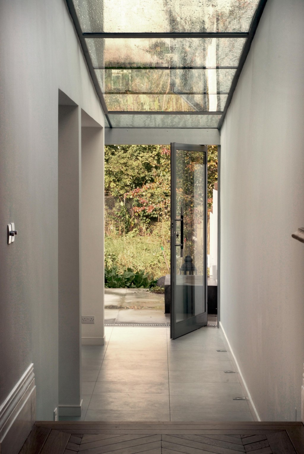 House in Queenspark I / Glass extension