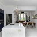 BARONS COURT BASEMENT EXTENSION & REDESIGN / Barons Court Kitchen View 2