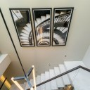 Chelsea Townhouse / Floating Staircase