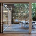 Architect's own home, London W11 / Living spaces & courtyard