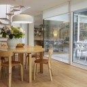 Architect's own home, London W11 / Living spaces & courtyard 2