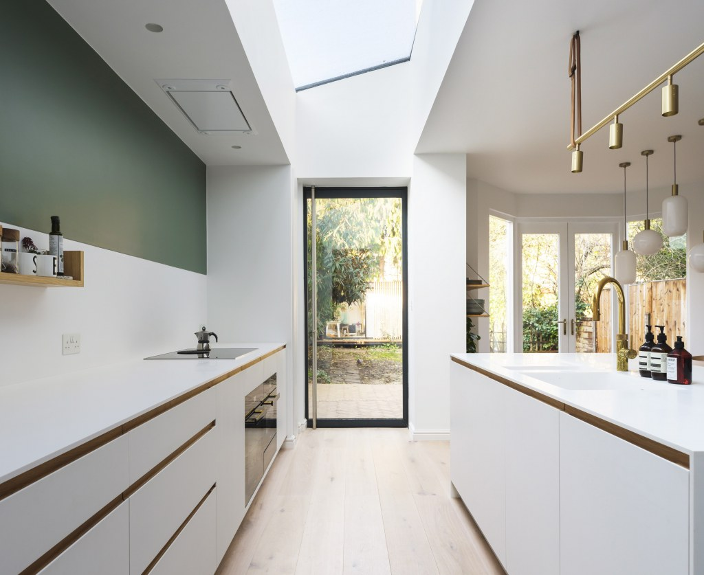 Ilford Family Home / Kitchen extension - garden view