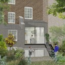 Islington Townhouse / Proposed external extension