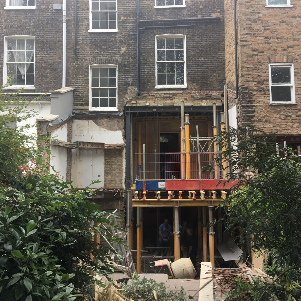 Islington Townhouse / Site photo