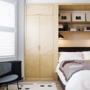 Ilford Family Home / Master bedroom fitted wardrobes