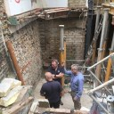 Islington Townhouse / Site structural photo