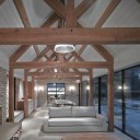 Oxfordshire House / Pool House interior