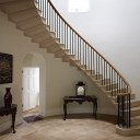 New town house in Cheltenham / Entrance hall and staircase