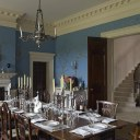 New Palladian Villa / Dining room