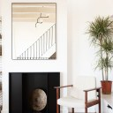 PRIVATE RESIDENCE - MAIDA VALE / Main reception fire place