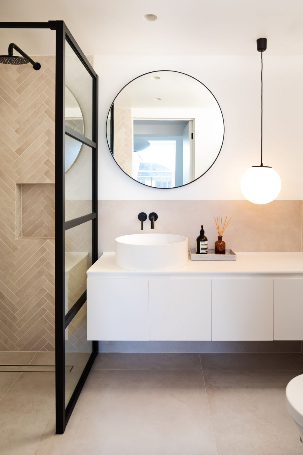 PRIVATE RESIDENCE - MAIDA VALE / Master bathroom
