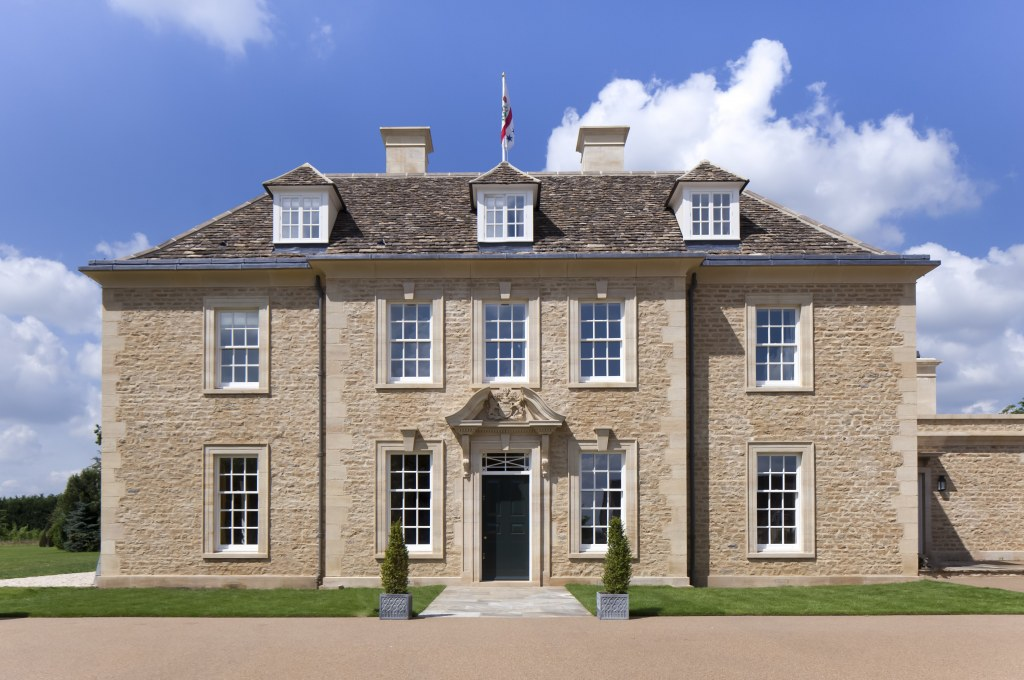 New Country House, Cotswolds / Front Elevation