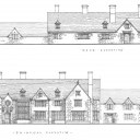 New Country House, Oxfordshire / Elevation Drawings