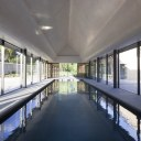 Contemporary Pool / Interior view