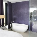 The Pavilion Eco House / master bed ensuite