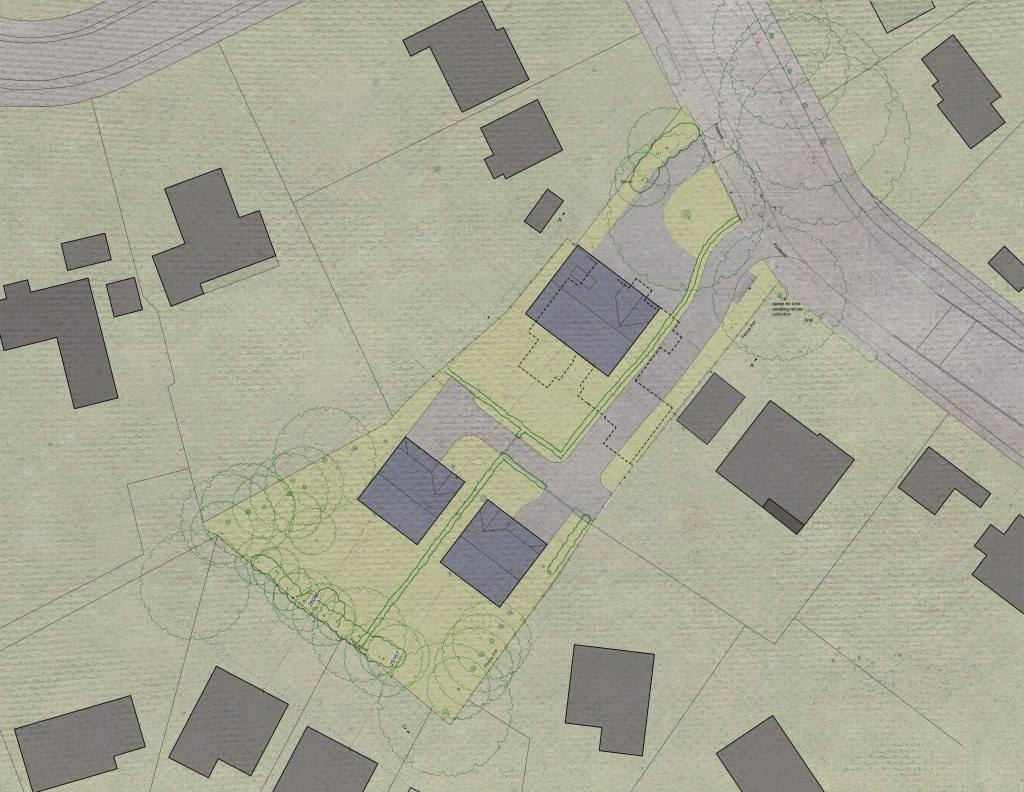 Hertfordshire rural housing / Site Plan