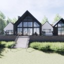 House in the Woods / Perspective View 01