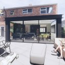 Moder House Extension, Twyning / Perspective View 02