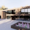 Modern House in rural Location / Perspective View 01