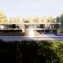 Modern House in rural Location / Perspective View 02