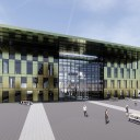 Modern Office Developments / Perspective View 01