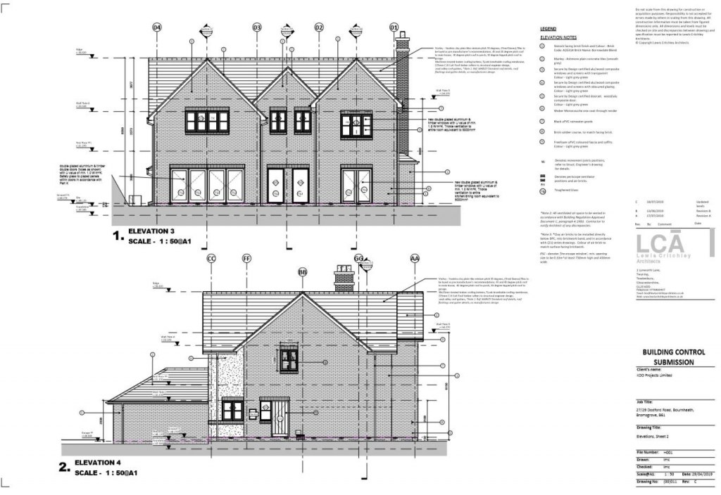 Traditional House / Elevations 02