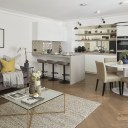 Replacement homes on Dean's Mews, London / Dean's Mews interior