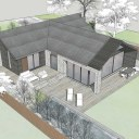 Green Belt Bungalow remodelling / Design model images