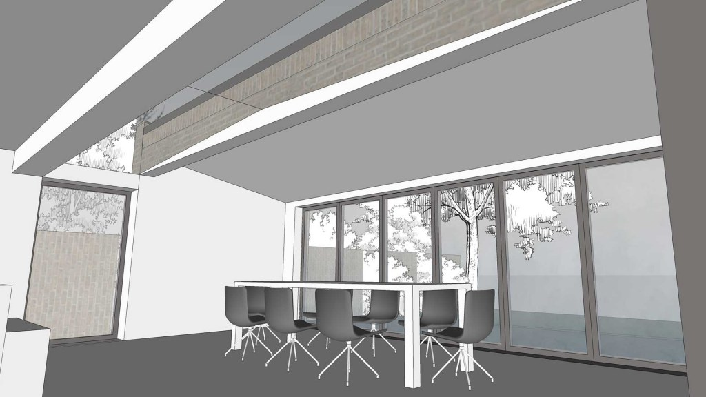 House remodelling and refurb / Internal design model view