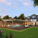 New Build House & Pool / Rendered view of proposals