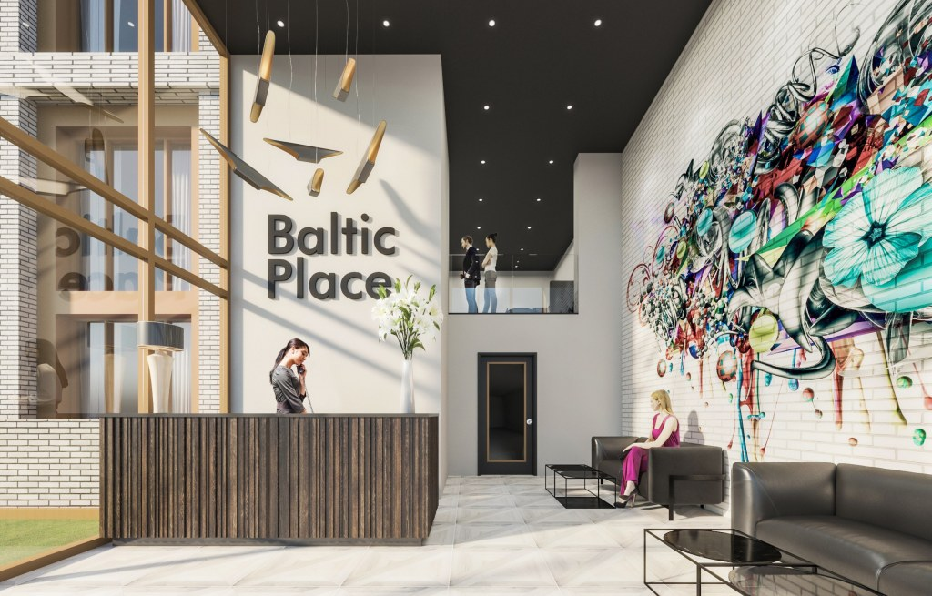 Baltic Place / Reception Area