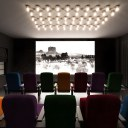 The Market Building, Brentford / Internal ground floor communal cinema room