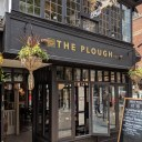 The Plough, Central Oxford / Exterior view of main entrance from Cornmarket Street
