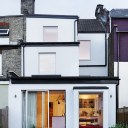 The Tier House / The Tier House - Rear elevation