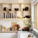 The Tier House / Kitchen storage