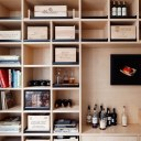 Wine Collector's Flat / Wine storage detail
