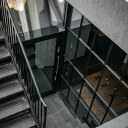 Tokyo Pizza / Stairwell and Entrance