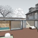 New Build House & Pool / Concept model image 2