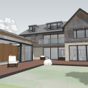 New Build House & Pool / Concept model image 3