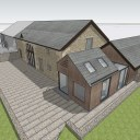 Barn Extension and Refurb / Extension alongside the existing stone barn 2
