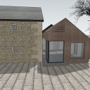 Barn Extension and Refurb / Extension alongside the existing stone barn 3