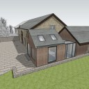 Barn Extension and Refurb / Extension alongside the existing stone barn 4