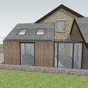 Barn Extension and Refurb / Extension alongside the existing stone barn 5